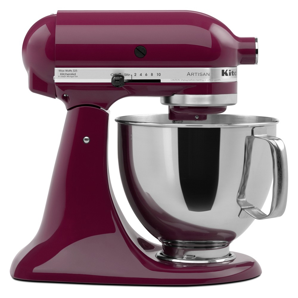 KitchenAid Refurbished 5qt Artisan Stand Mixer Boysenberry – RRK150BY 53960959