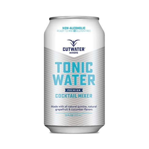 Cutwater Spirits Tonic Water - 4pk / 12 fl oz Cans - image 1 of 3
