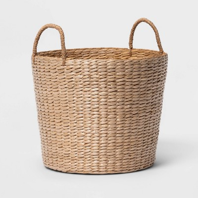 Round Decorative Basket Natural - Threshold™