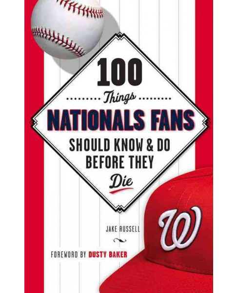 100 Things Nationals Fans Should Know & Do Before They Die (Paperback) (Jake Russell) - image 1 of 1