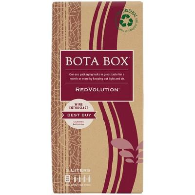 Bota Box RedVolution Red Wine - 3L Box