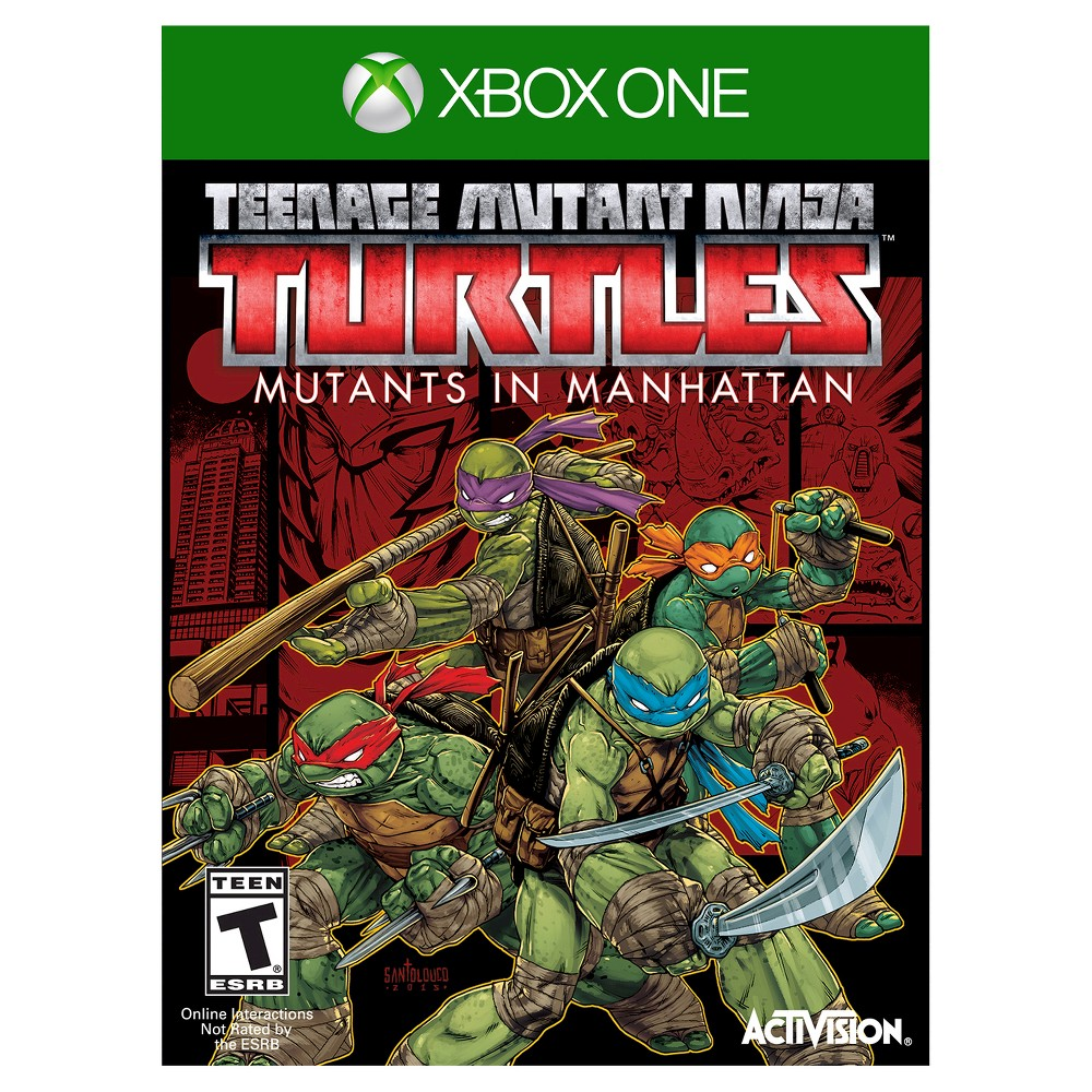 Tmnt Mutants in Manhattan Xbox One Save the day with your 4 favorite vigilantes with Tmnt Mutants in Manhattan (Xbox One) - Activision. The game works for Xbox One consoles. The action video game is recommended for ages 13 and up.