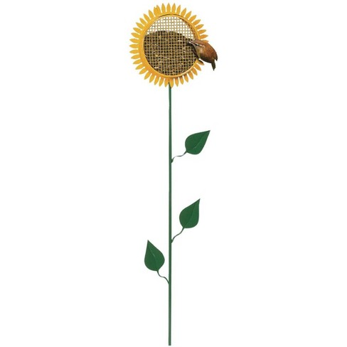 Woodlink 38-Inch Tall Portable Sunflower Stake Bird Feeder with Metal Mesh Cage - image 1 of 1
