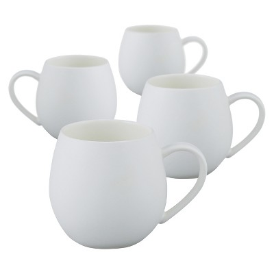 Robert Gordon® Hug Me Mug 11.8oz Set of 4 - White
