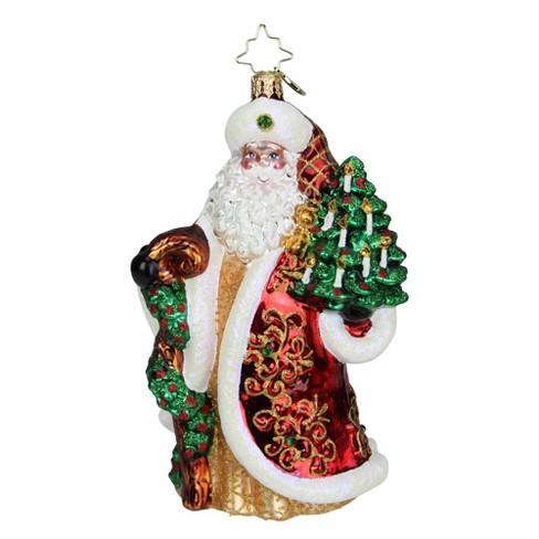 Christopher Radko *NEW* 2019 Magnificent Santa Christmas Ornament #1019696