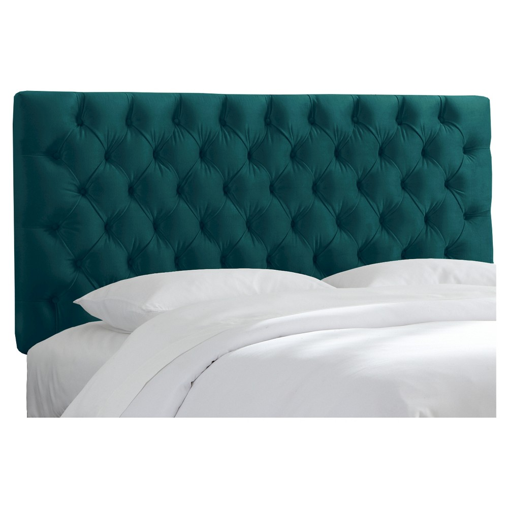 Full Tufted Headboard Mystere Peacock - Threshold