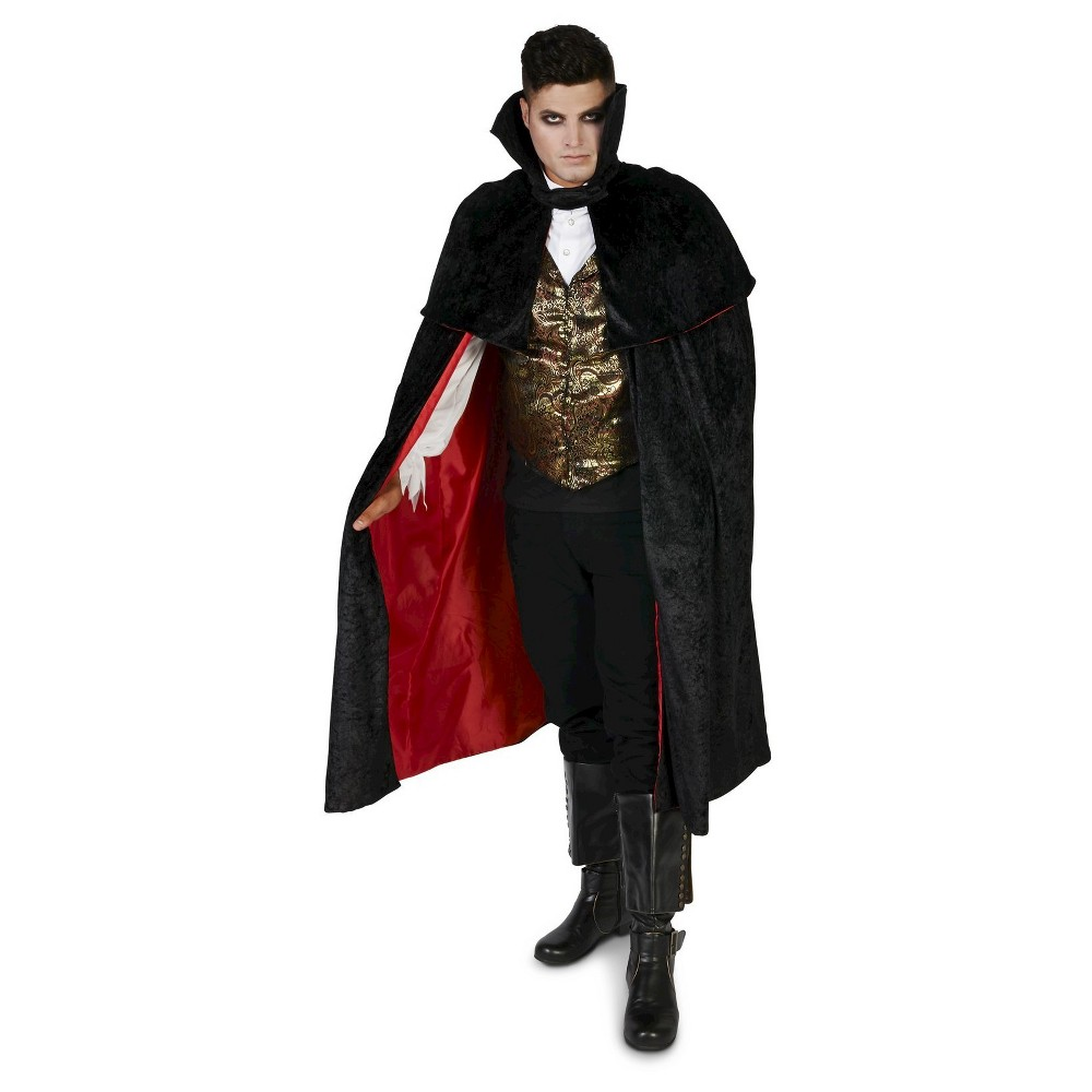 Image of Halloween Eerie Vampire Men's Costume Large, Black
