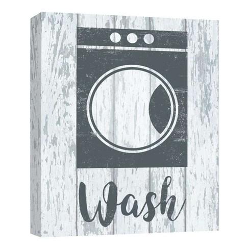 "11"" x 14"" Wash I Decorative Wall Art - PTM Images - image 1 of 1"