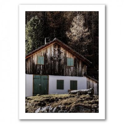 Americanflat Old Barn By Tanya Shumkina White Frame Wall Art Target