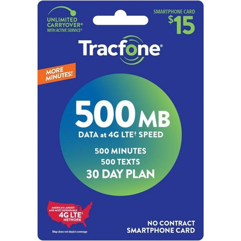 TracFone Smartphone Only Prepaid Card (Email Delivery) - image 1 of 1