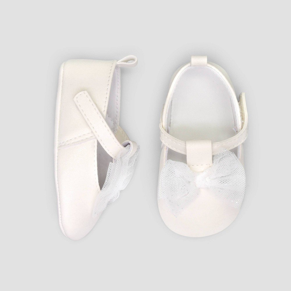 Baby Girls 39 Mary Jane Flats Just One You 174 Made By Carter 39 S Ivory 3 6m
