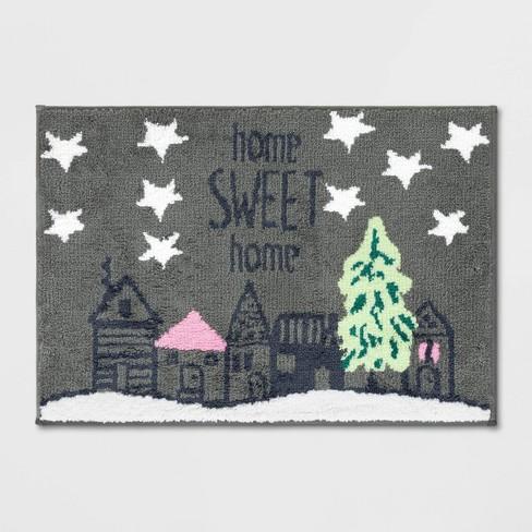 Home Sweet Home Bath Rug - Wondershop™ - image 1 of 3