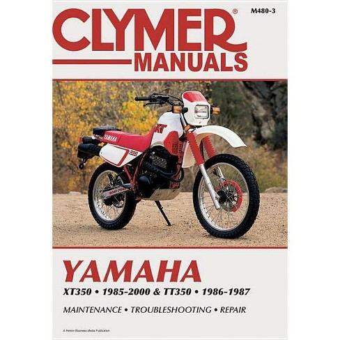 Yamaha Xt350 and Tt350 1985-2000 - 3 Edition by  Penton (Paperback) - image 1 of 1