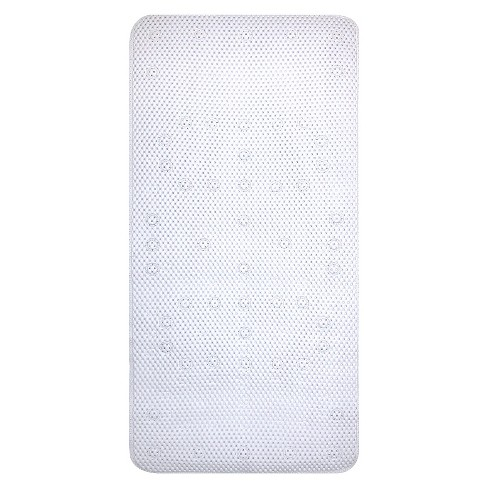 Small Cushion Bath Mat White - Room Essentials™ - image 1 of 1