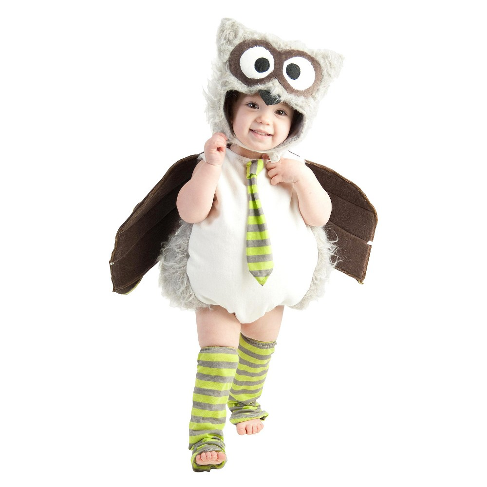 Image of Halloween Baby/Toddler Owl Costume 18M-2T, Adult Unisex, Size: Small, Black