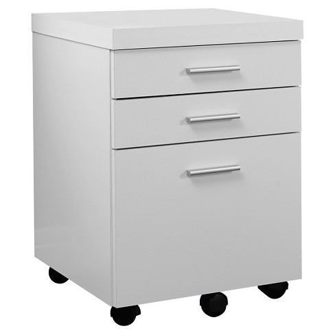 Vertical Filing Cabinet  -3 Drawer - White - EveryRoom - image 1 of 2
