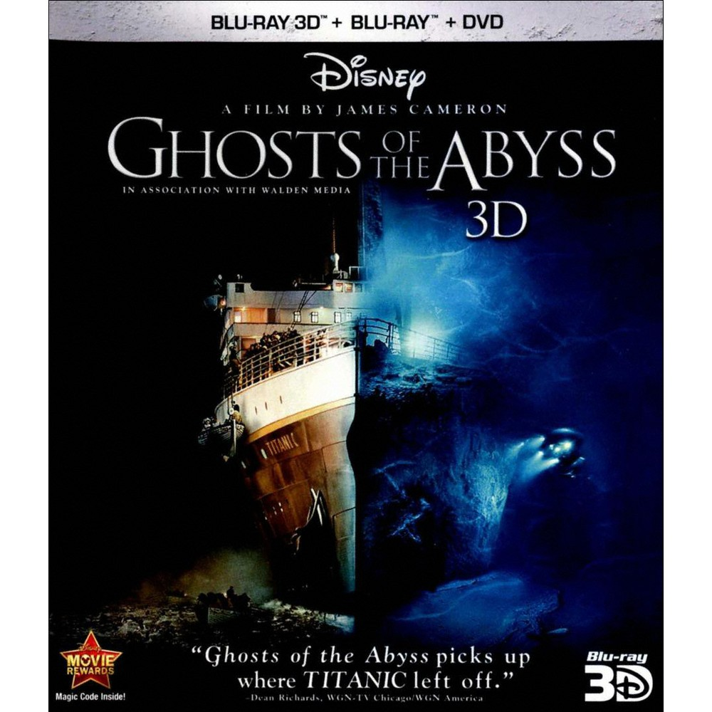 Ghosts of the Abyss [3D] [Blu-ray/Dvd]