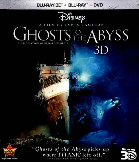 Ghosts of the Abyss [3D] [Blu-ray/DVD] - image 1 of 1