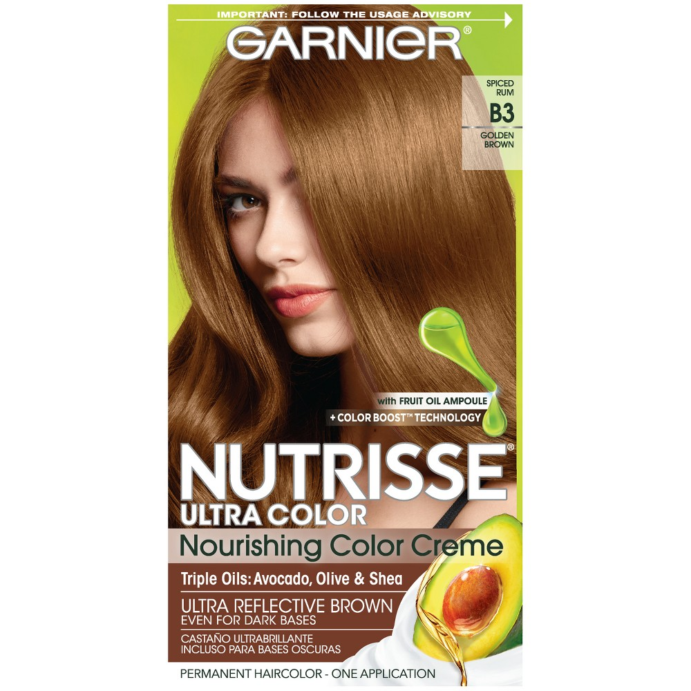 Garnier Nutrisse Ultra Color Nourishing Color Creme B3 Golden Brown