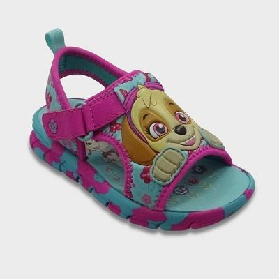 Toddler Girls' Nickelodeon PAW Patrol Slide Sandals - Turquoise S