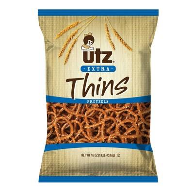 Utz Extra Thin Pretzels - 16oz