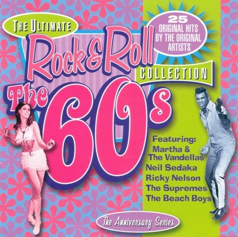 Various - Ultimate rock & roll collection-60's (CD) - image 1 of 1