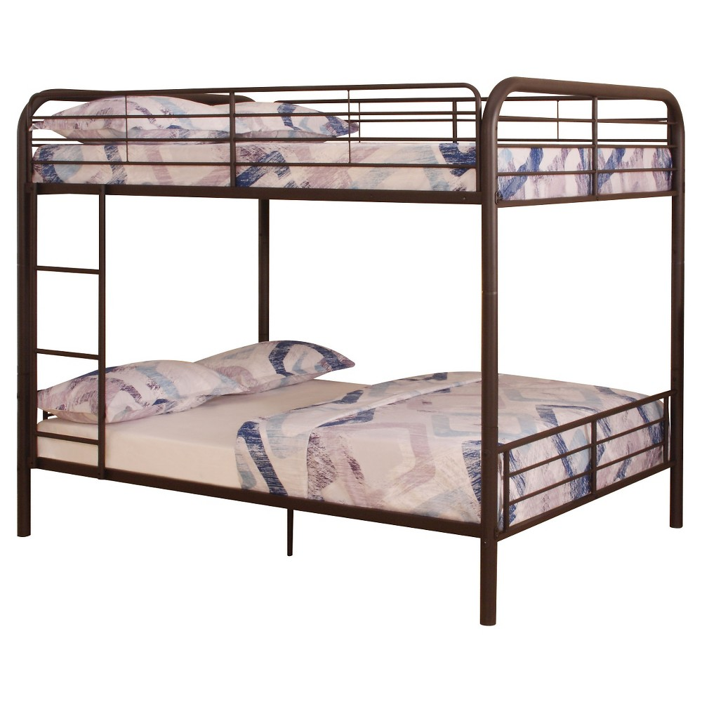 Image of Bristol Kids Bunk Bed - Dark Brown(Full/Full) - Acme