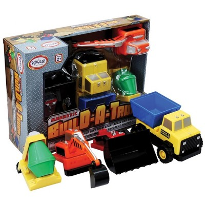 Popular Playthings Mix or Match: Build-A-Truck