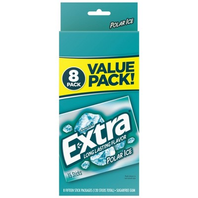Extra Polar Ice Sugar-Free Gum Value Pack - 120ct