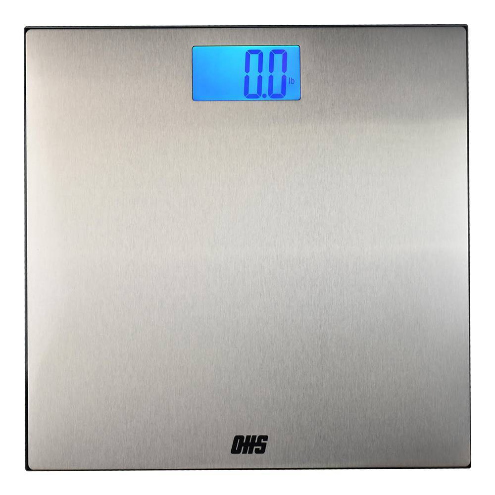 Image of Structure Digital Bathroom Sale Stainless Steel - Optima Home Scales, Silver