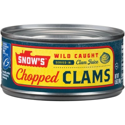 Snow's Chopped Clams - 6.5oz