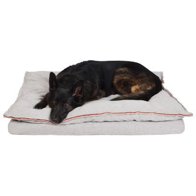 Pillowtop Dog Mattress - Taupe - L - Boots & Barkley™