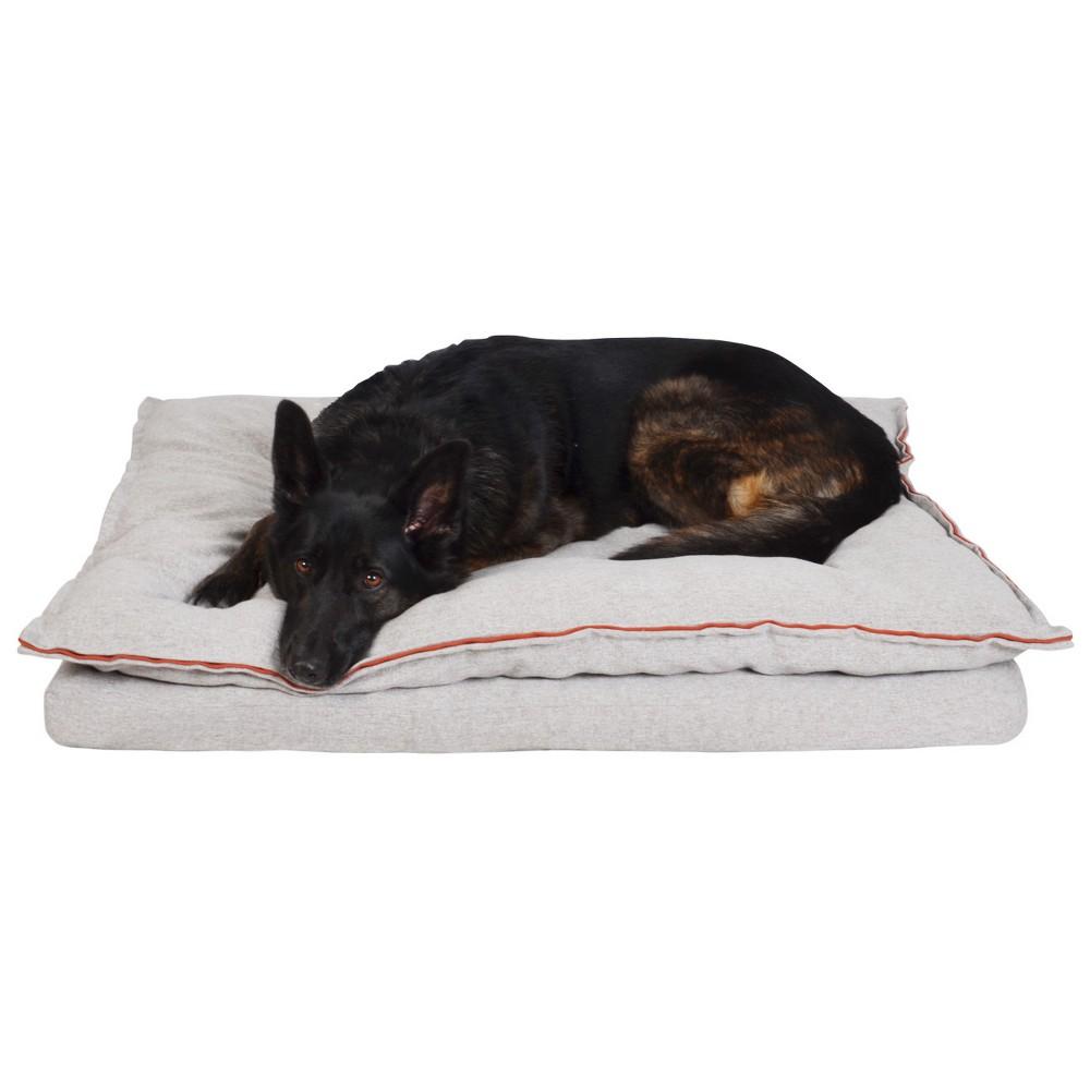 Pillowtop Dog Mattress - Taupe (Brown) - XLarge - Boots & Barkley