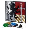 LEGO Art Harry Potter Hogwarts Crests 31201 - image 2 of 4