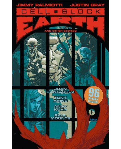 Cell Block Earth and Other Stories -  by Jimmy Palmiotti & Justin Gray (Paperback) - image 1 of 1