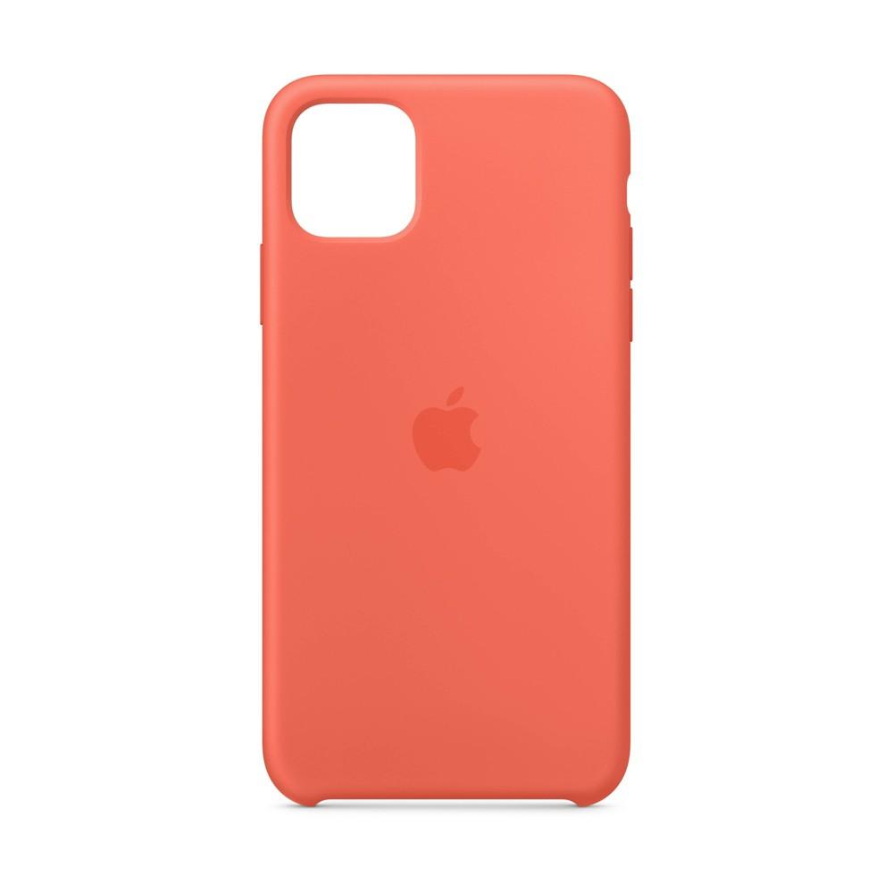 Apple iPhone 11 Pro Max Silicone Case - Clementine (Orange)