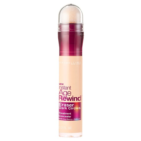 Maybelline Instant Age Rewind Eraser Dark Circles Treatment Concealer 100 Ivory - 0.2 fl oz - image 1 of 5