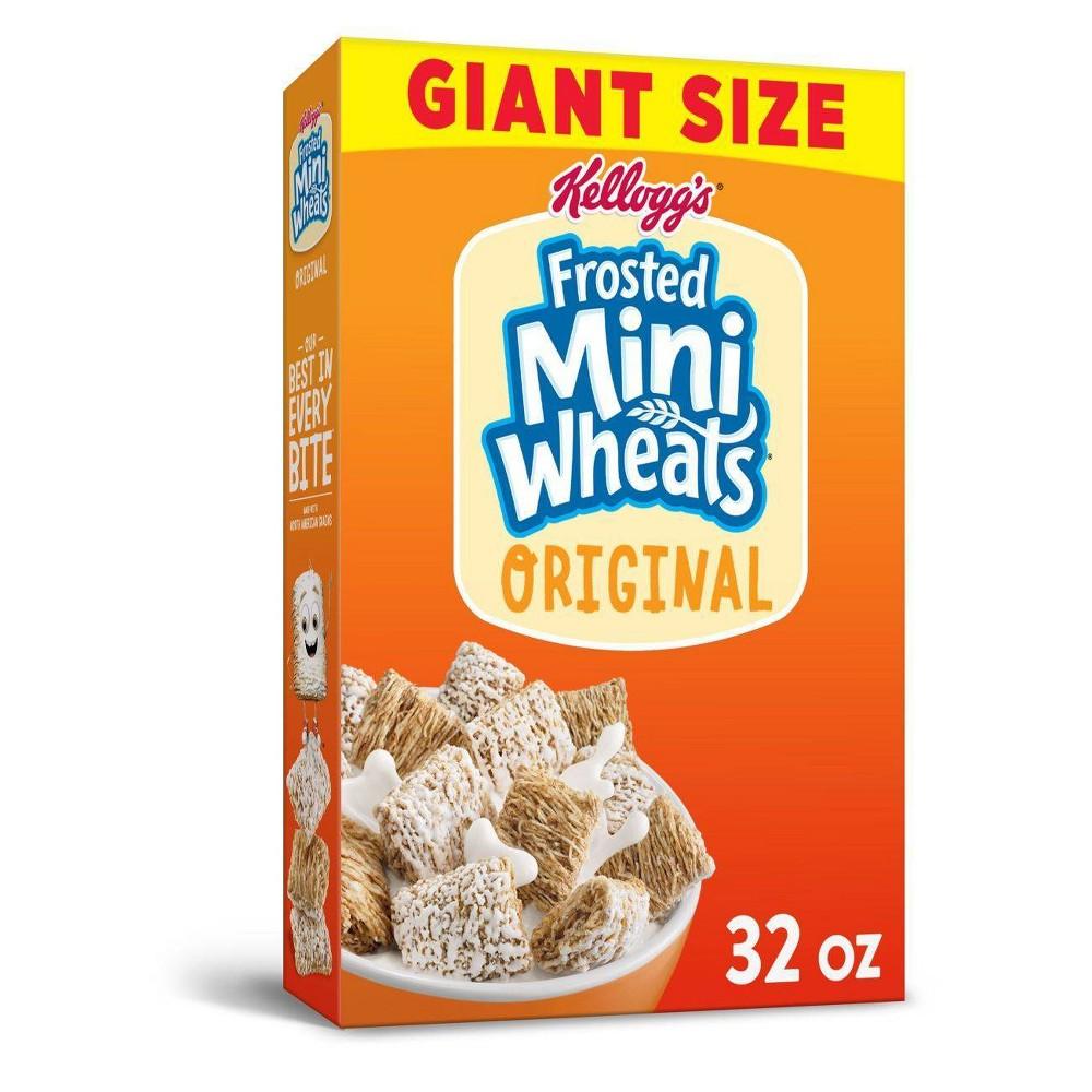 Frosted Mini Wheats Original Breakfast Cereal 32oz Kellogg S