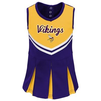 Minnesota Vikings Infant-Toddler In the Spirit Cheer Set 18 M