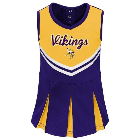 Minnesota Vikings Infant-Toddler In The Spirit Cheer Set 2T   Target cc14d7a3d