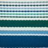 Set of 6 Tidal Stripe Fringed Placemat Blue - Design Imports - image 2 of 4