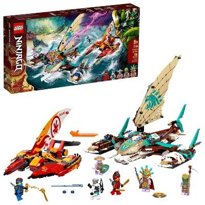 LEGO NINJAGO Catamaran Sea Battle Building Toy 71748
