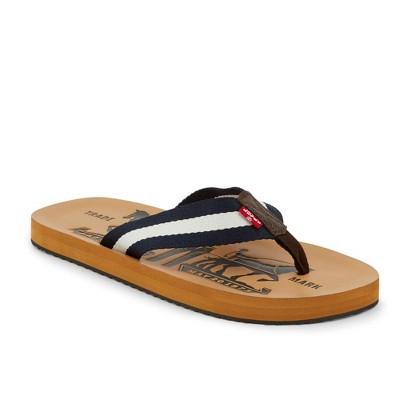 Levi's Mens Two Horse Casual Flip-Flop Sandal Shoe
