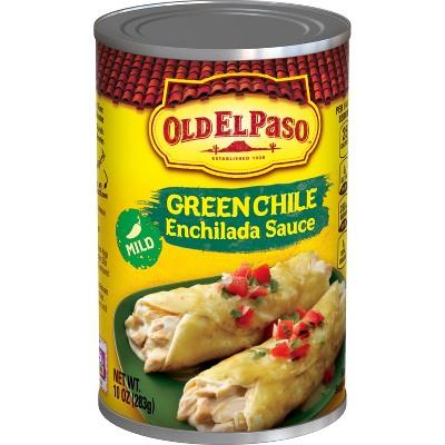 Old El Paso Enchilada Sauce Mild Green Chili 10oz