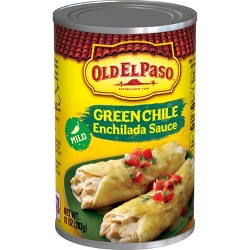 Old El Paso Enchilada Sauce Mild Green Chili 10 oz