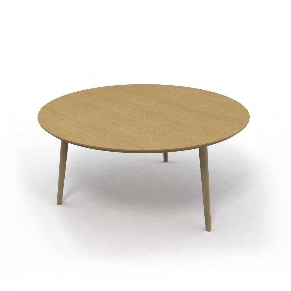"Image of ""30"""" Blythe Round Coffee Table Natural - Jamesdar"""