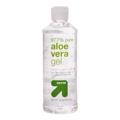 Clear Aloe Vera Gel 16oz Up Up Target