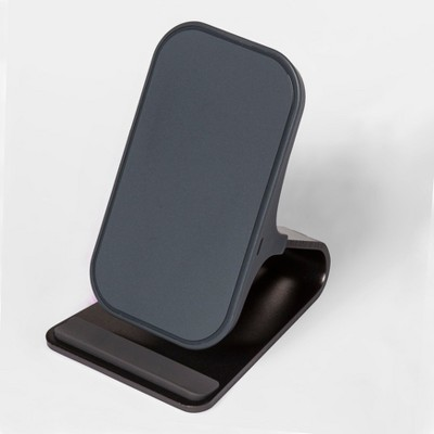 heyday™ Qi Wireless Charging Stand - Gunmetal