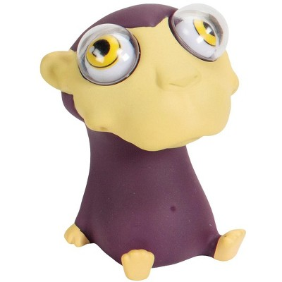 Warm Fuzzy Toys Poppin' Peeper Monkey Fidget Toy, 3 Inches