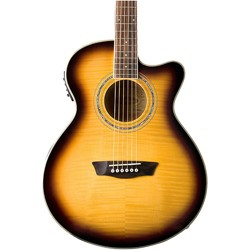 Washburn Festival Series Acoustic-Electric Guitar Tobacco Burst